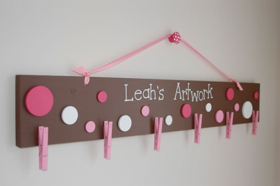 Personalized Wooden Art Hanger-Large Size