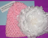 Waffle Princess - Infant Crocheted Hat