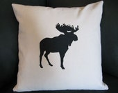 Reserved for KeriLW Moose Pillow