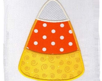 CandyCorn Machine Embroidery Applique