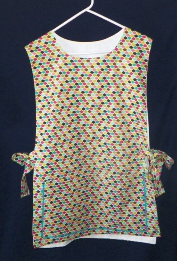 Brilliant Repeating Pattern of Colors Kitchen Cobbler Apron