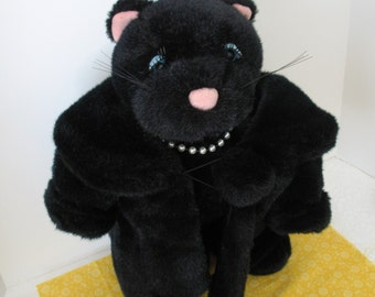 Vintage Collectible Fur Cat- North American Bear Company Fabulous Fakes Collectible Cat
