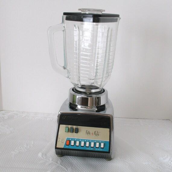 Vintage Osterizer Pulse Matic Blender Retro Vintage Blender