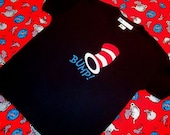 BUMP Dr. Seuss Cat in the Hat inspired T Shirt  3 months-4T