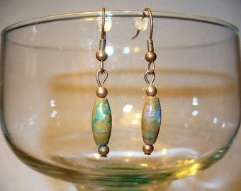 Copper Rhyolite Earrings