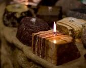 Travertine Stone Oil Lamp