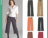 New Look 6510 Pants, capris, and skirt Pattern UNCUT Sizes 10-22