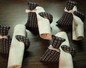Cat Decor / Napkin Holders /  Napkin Rings / set of 4 / top seller
