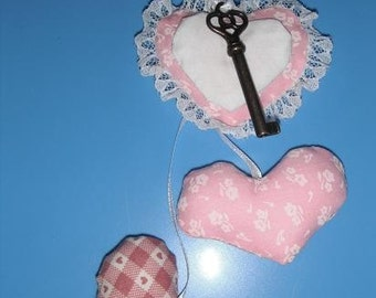 Key to My Heart Fabric Valentine - Valentines Day
