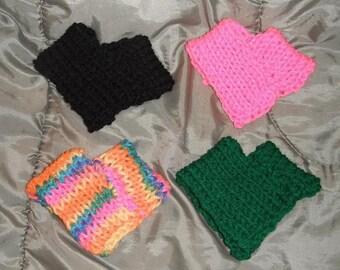 Fashion Doll Poncho Hand Knit For 11.5 Inch Dolls