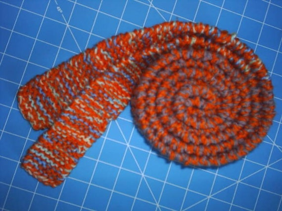 Knit Belt or Skinny Scarf on SALE