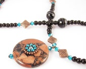 NEW Gorgeous for a Goddess Sandstone Beauty Necklace Great Price Great Quality
