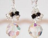 Clearance Earrings Sale Swarovski Crystal Ball Earrings