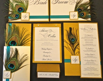 Customized Wedding Programs, Table Numbers, Placecards, Signs, Menus...etc