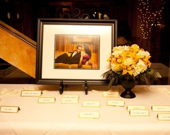 Place/Escort Cards with Rhinestone