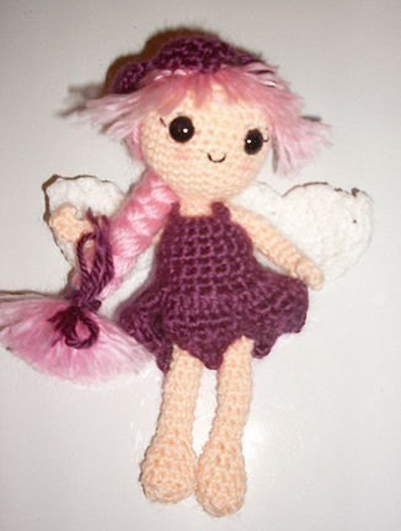 Flower Fairy Crochet Pattern.