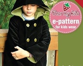 Unisex Warm Hoodie Jacket Junior Size PDF Patterns and instructions ((Age 7 to 12))