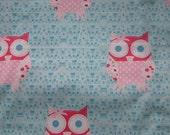 What a Hoot - Owls Fabric Fat Quarter