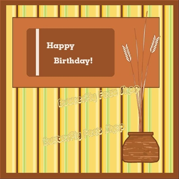 Birthday Cards For Guys Printable ~ Items similar to printable birthday cards for men five digital papers pdf card making kit