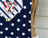 Nautically Nice Full Reversible Sailor Apron