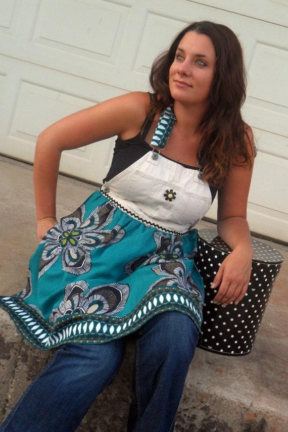 Upcycled Hippie FarmGirl Apron