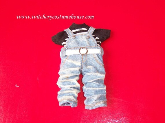 Overalls Denim light blue for Pukifee Lati Yellow
