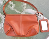 HALF OFF SALE Nectarine Handbag 90s - in2purses2010