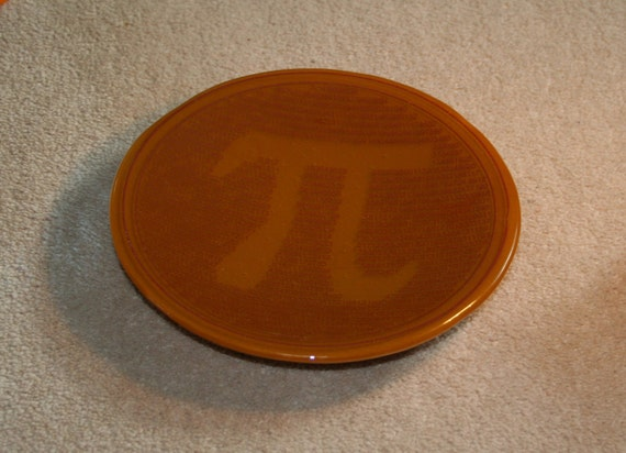 Geeky Pi Bowl DESIGN THREE - made to order in any colour
