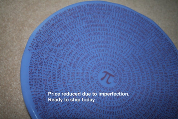 Geeky Pi Bowl - Clearance due to imperfection