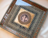 Decoupage Greek Tray