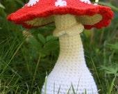 Mushroom - crochet pattern - Toadstool x1