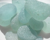 Loose English Sea Glass - Aqua  - FREE SHIPPING