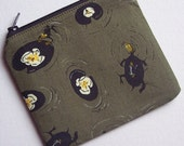 little zip pouch - Lily Pond