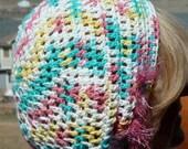 Women Hats / Women Fashion / Soft Cotton Crochet Hat / Unique Bohemian Accessories