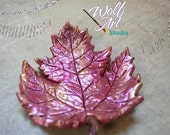Polymer Clay Maple Leaf Trinket/Jewelry/Loose Change/Miscellaneous Holder