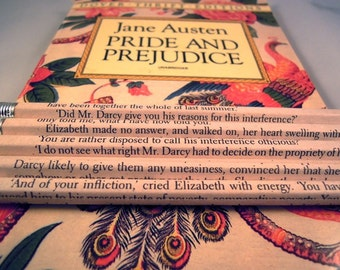 Pride and Prejudice Wrapped Pencil Set