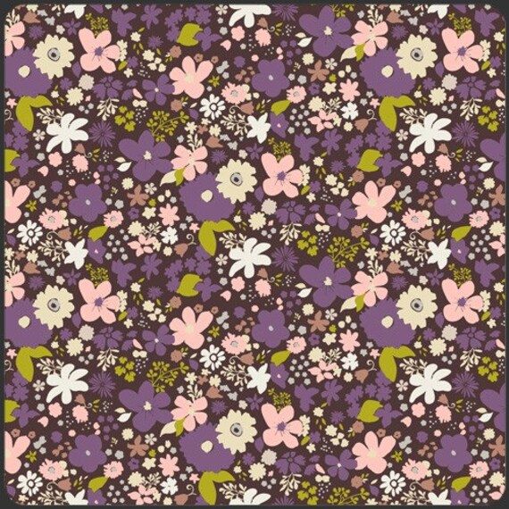Vintage Rush Brown from Art Gallery Fabrics 'Coquette' collection Fat Quarter