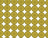 Christmas Spice by Michael Miller, OLIVE SNOW DOTS, 1 Yard of Fabric