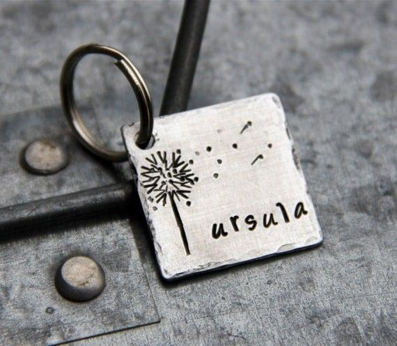 Custom Pet ID Tag - Wish -  in 1'' Square Aluminum