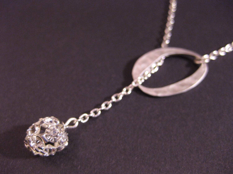 disco lariat necklace
