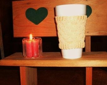 Mushroom Cotton Cup Cozy
