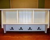 "Cubby Shelf  31-1/2"" Wide - Top shelf 7-1/4"" deep"