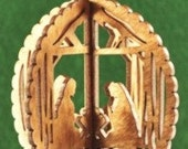 3-D Nativity Ornament