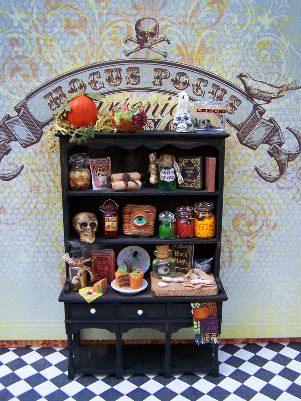 Dollhouse Miniature Wicked Alchemy Witch S By