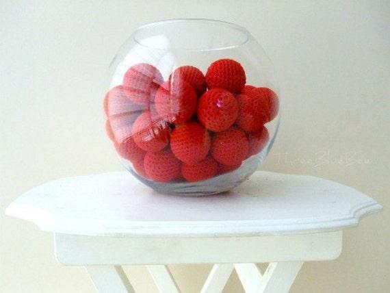 Big Red Balls 6Pcs (Without Holes)