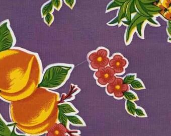 Cane Purple OilCloth Yardage