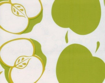 Solvang in Lime OilCloth - Yardage