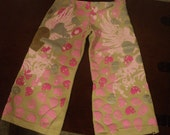 upcycled toddlers lounge tshirt  pants