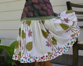 Summer Fun Cotton Tiered Skirt