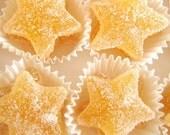 Lemon Tart Sweet Candy Stars